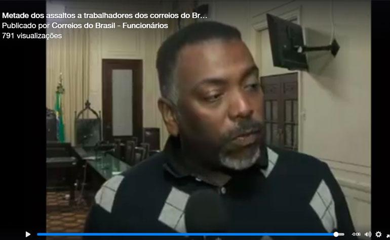 Video – Metade dos assaltos a trabalhadores dos correios do Brasilacontece no estado do Rio de Janeiro
