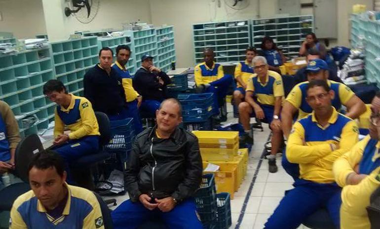 SINTECT-RJ FISCALIZA ENTREGA MATUTINA NO CDD ANGRA - 14-07-2016