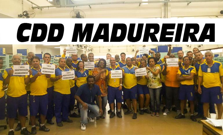#SINTECTRJNABASE – CDD MADUREIRA UNIDO
