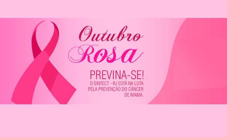 Outubro Rosa – Se toque, a prevenção pode salvar vidas!