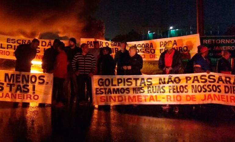 #GreveGeral – Balanço parcial da greve: Múltiplas paralisações e repressão contra os trabalhadores marcam começo da greve geral no Rio de Janeiro