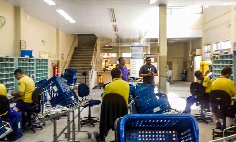 #SINTECTRJNABASE – CDD Retiro recebe diretores do SINTECT-RJ