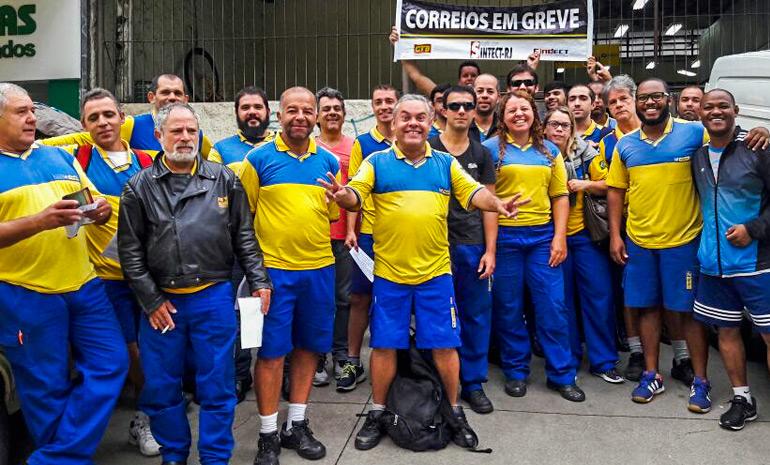 #GREVEGERAL: Cerca de 4mil trabalhadores em greve no Rio de Janeiro