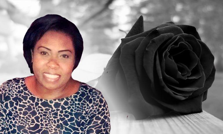 luto: nota de falecimento da companheira Adriana