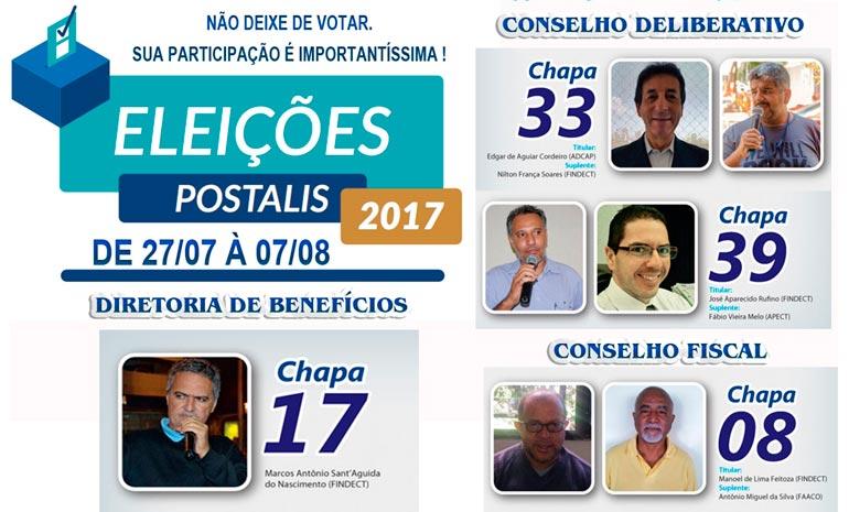 Dirigentes da CTB Correios disputam eleições para o Postalis a partir desta quinta-feira