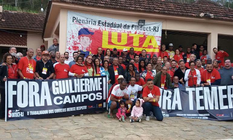 Plenária Estadual da FINDECT e CTB: Trabalhadores unidos contra a perda de direitos
