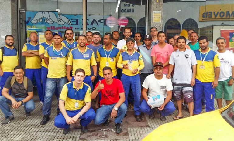 Ecetistas do Sul Fluminense seguem firme na greve