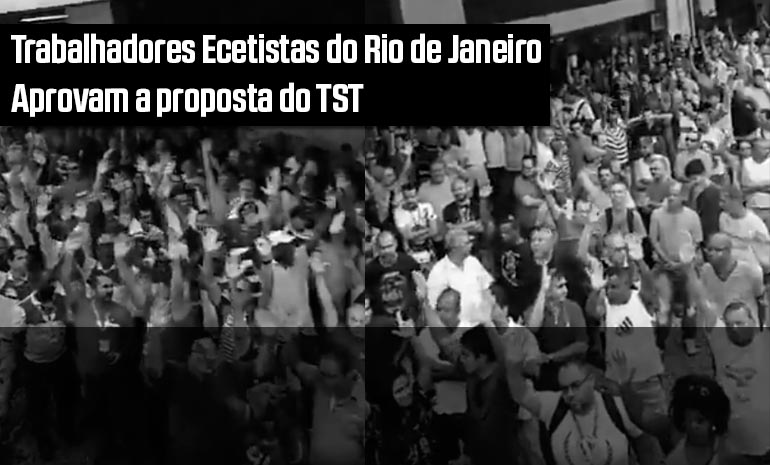 Ecetistas encerram greve e aceitam proposta do TST que mantém benefícios