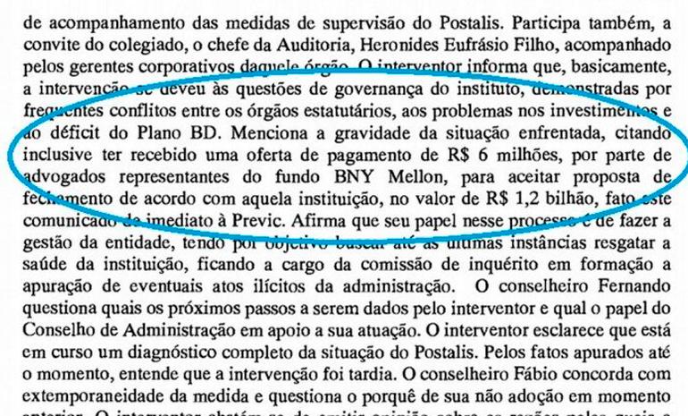 #SaiunaMídia: Oferta de propina e registrada em ata do conselho dos Correios