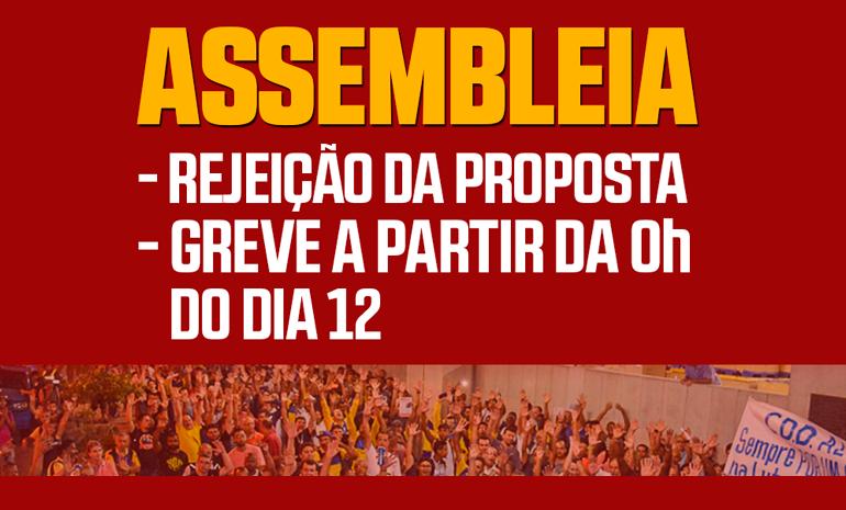 05/03 – Todos na ASSEMBLEIA DE GREVE!