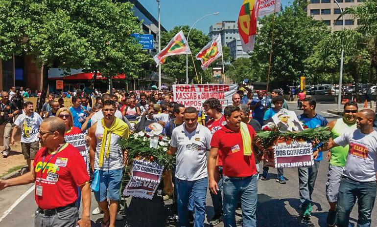 #GREVECORREIOS: Grande adesão e manifestações em todo o país marcam o primeiro dia de greve