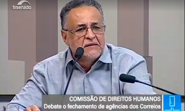 Audiência Pública sobre o fechamento de agências e demissões nos Correios – CDH/Senado