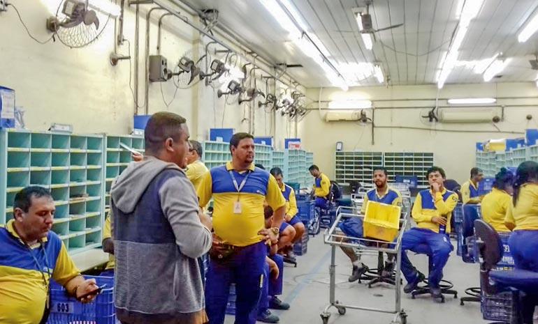 SINTECT-RJ NA BASE: Mobilizações para Campanha Salarial não param