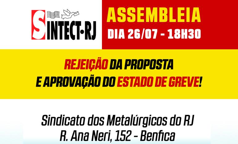 CAMPANHA SALARIAL 2018 – ASSEMBLEIA DE ESTADO DE GREVE