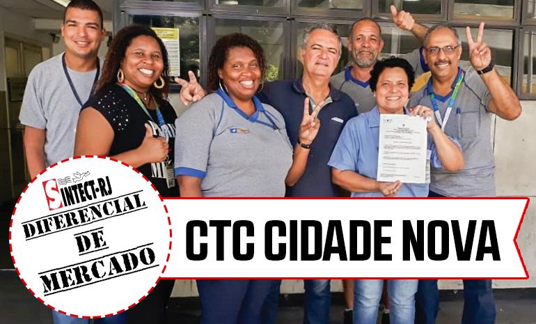VITÓRIA – CTC CIDADE NOVA COMEMORA CONQUISTAS NA AÇÃO DE DIFERENCIAL DE MERCADO