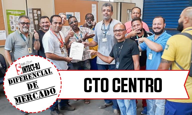 VITÓRIA – CTO CENTRO COMEMORA CONQUISTA NA AÇÃO DE DIFERENCIAL DE MERCADO