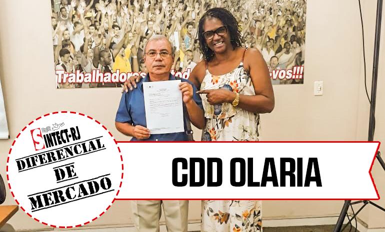VITÓRIA – CDD OLARIA COMEMORA CONQUISTA NA AÇÃO DE DIFERENCIAL DE MERCADO