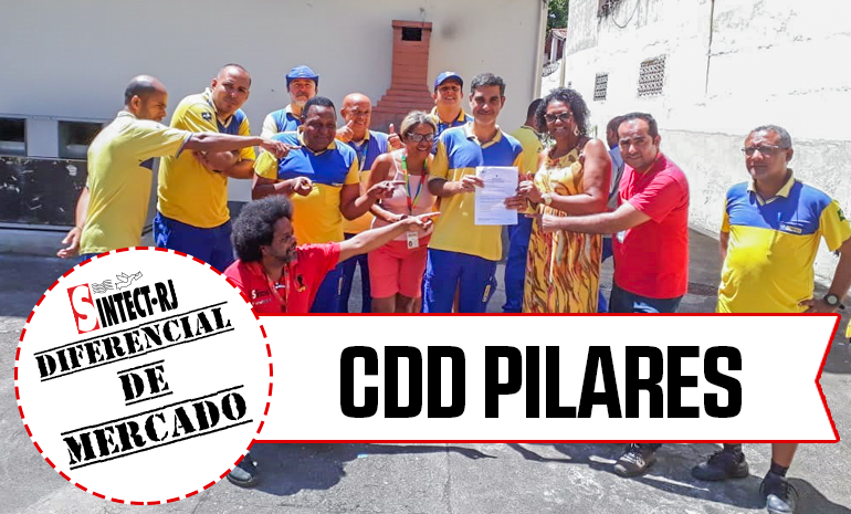 VITÓRIA – CDD PILARES COMEMORA CONQUISTA NA AÇÃO DE DIFERENCIAL DE MERCADO