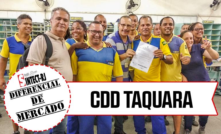 VITÓRIA – CDD Taquara COMEMORA CONQUISTA NA AÇÃO DE DIFERENCIAL DE MERCADO