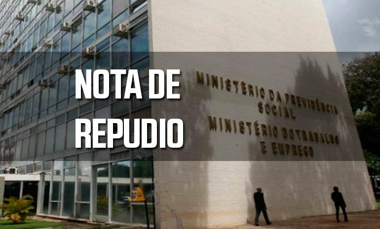 Sintect-RJ repudia extinção do Ministério do trabalho