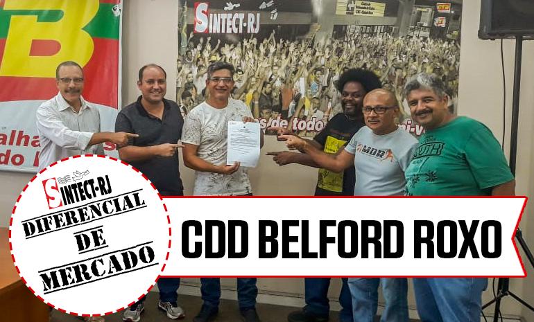 VITÓRIA – CDD Belford Roxo COMEMORA CONQUISTA NA AÇÃO DE DIFERENCIAL DE MERCADO