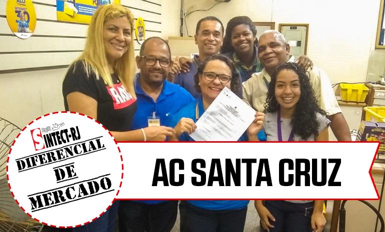 VITÓRIA – AC Santa Cruz COMEMORA CONQUISTA NA AÇÃO DE DIFERENCIAL DE MERCADO