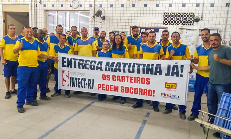 SINTECT/RJ MOBILIZA OS TRABALHADORES EM REUNIÕES SETORIAIS NA BAIXADA
