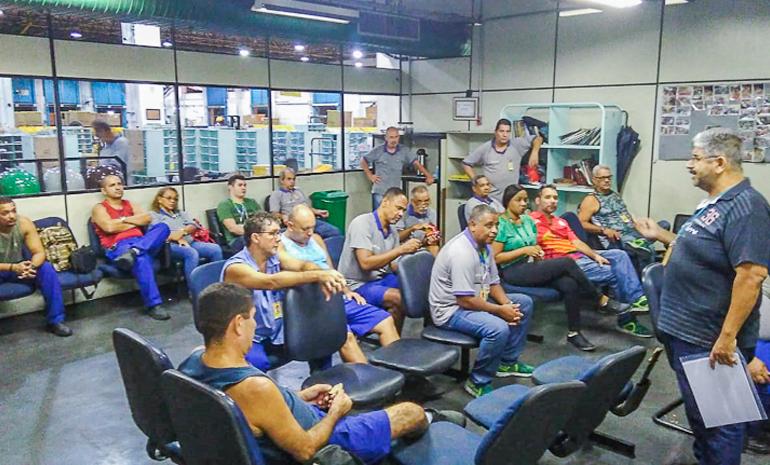 SINTECT/RJ mobiliza os trabalhadores com reuniões setoriais em Nova Iguaçu