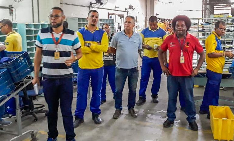 Reuniões setoriais mobilizam trabalhadores dos Cee Penha, Cdd Olaria, Cdd Rocha Miranda, Cdd Ramos, Cdd Bonsucesso, Cdd São Cristóvão e Cdd O.Cruz