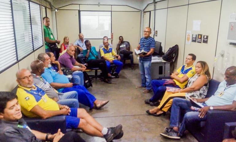REUNIÃO SETORIAL MOBILIZA TRABALHADORES DA REGIÃO DO CTO SANTO CRISTO