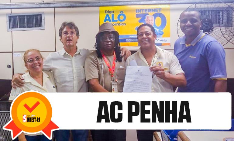 TRABALHADOR DA AC PENHA RECEBE ALVARÁ DA AÇÃO DO DIFERENCIAL DE MERCADO