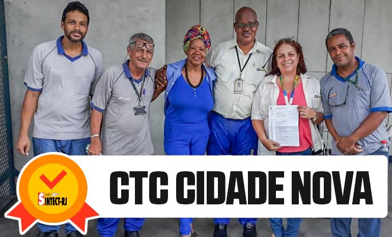 TRABALHADORA DO CTC CIDADE NOVA RECEBE ALVARÁ DA AÇÃO DO DIFERENCIAL DE MERCADO