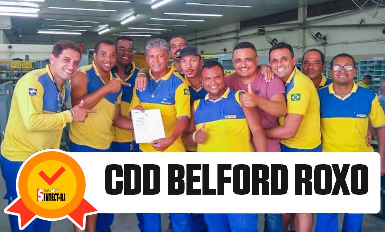 TRABALHADOR DO CDD Belford Roxo RECEBE ALVARÁ DA AÇÃO DO DIFERENCIAL DE MERCADO