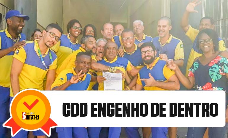 TRABALHADORES DO CDD ENGENHO DE DENTRO RECEBEM ALVARÁS DA AÇÃO DO DIFERENCIAL DE MERCADO