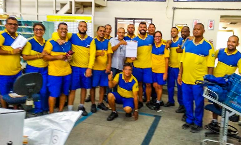 REUNIÃO SETORIAL MOBILIZA TRABALHADORES DO CDD Taquara