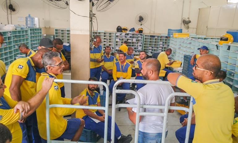 SINTECT/RJ mobiliza os trabalhadores em reunião setorial CDDs Paracambi e Queimados