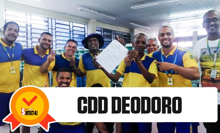 VITÓRIA DO SINTECT-RJ NO PAGAMENTO DO DIFERENCIAL DE MERCADO: CDD DEODORO