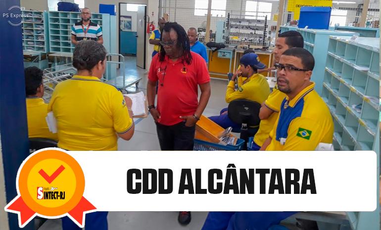 SINTECT/RJ mobiliza os trabalhadores em reuniões setoriais no CDD ALCÂNTARA