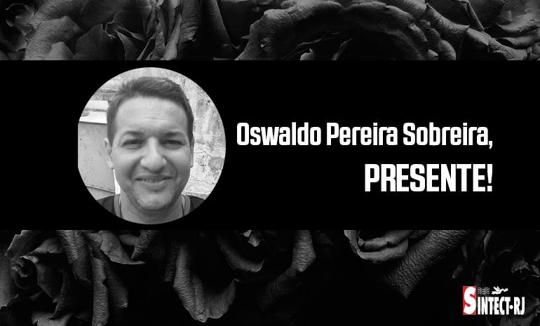 LUTO: Oswaldo Pereira Sobreira