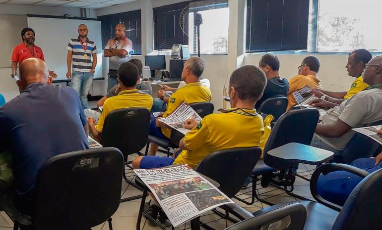 SINTECT/RJ mobiliza os trabalhadores em reuniões setoriais na zona norte