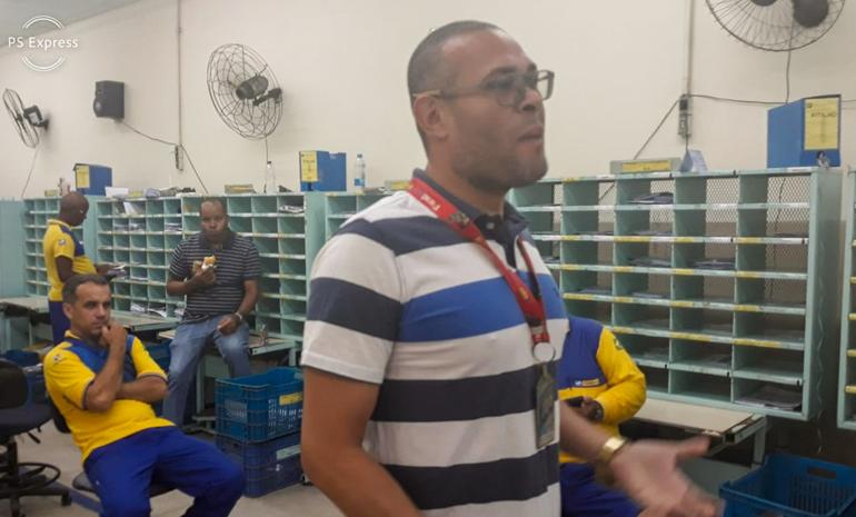 SINTECT/RJ mobiliza os trabalhadores em reunião setorial no Cdd  Bonsucesso