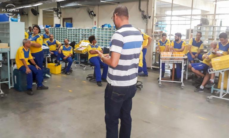 SINTECT/RJ mobiliza os trabalhadores em reunião setorial noCdd Engenho de Dentro