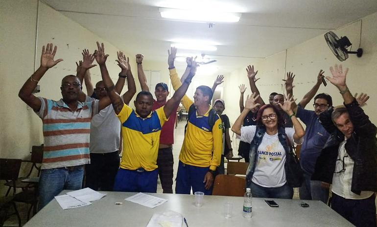Plenária mobiliza trabalhadores de campos para a greve geral