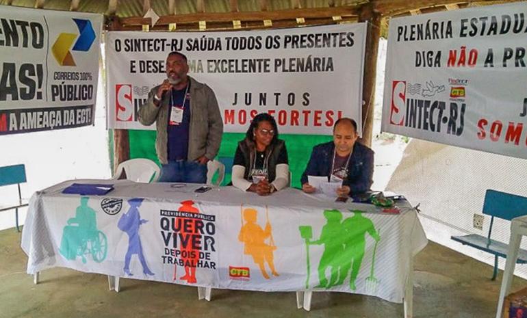Campanha Salarial 2019/2020 | Plenária da CTB/FINDECT – SINTECT/RJ