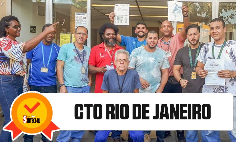 Trabalhadores da Zona Norte e CTO Rio de Janeiro em festa