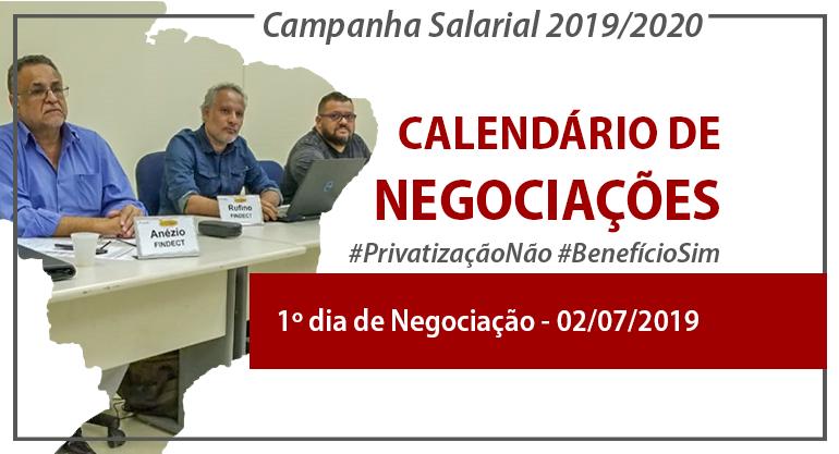 Batalha da Campanha Salarial começa com definição de calendário de negociações