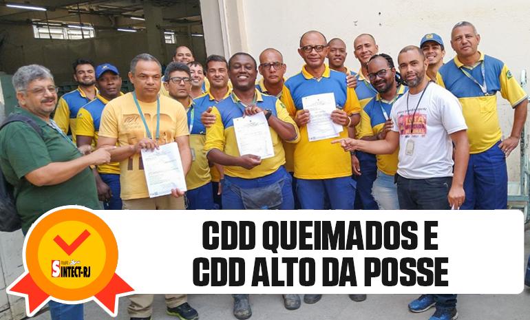 TRABALHADORES DO RIO RECEBEM ALVARÁS DA AÇÃO DO DIFERENCIAL DE MERCADO