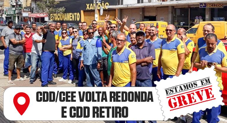 PIQUETES DA GREVE – 2º DIA DE UNIDADES DOS CORREIOS PARALISADAS NO RIO
