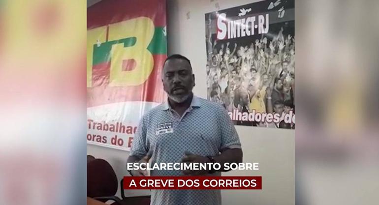 ▶ Presidente do Sindicato do Rio avalia a GREVE dos Correios