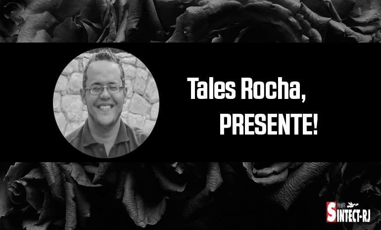 Luto: Tales Nunes da Rocha